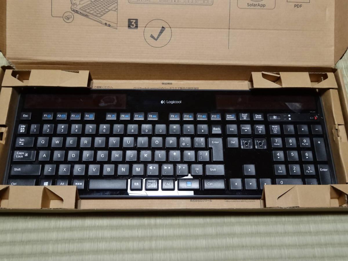 ★☆Logicool Wireless Solar Keyboard k750r 動作未確認9個セット☆★_画像2