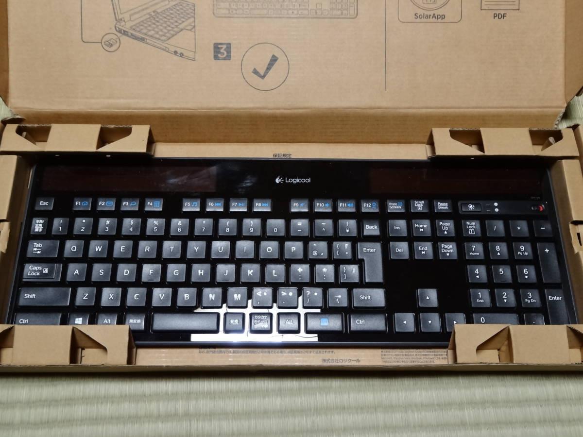 ★☆Logicool Wireless Solar Keyboard k750r 動作未確認9個セット☆★_画像4