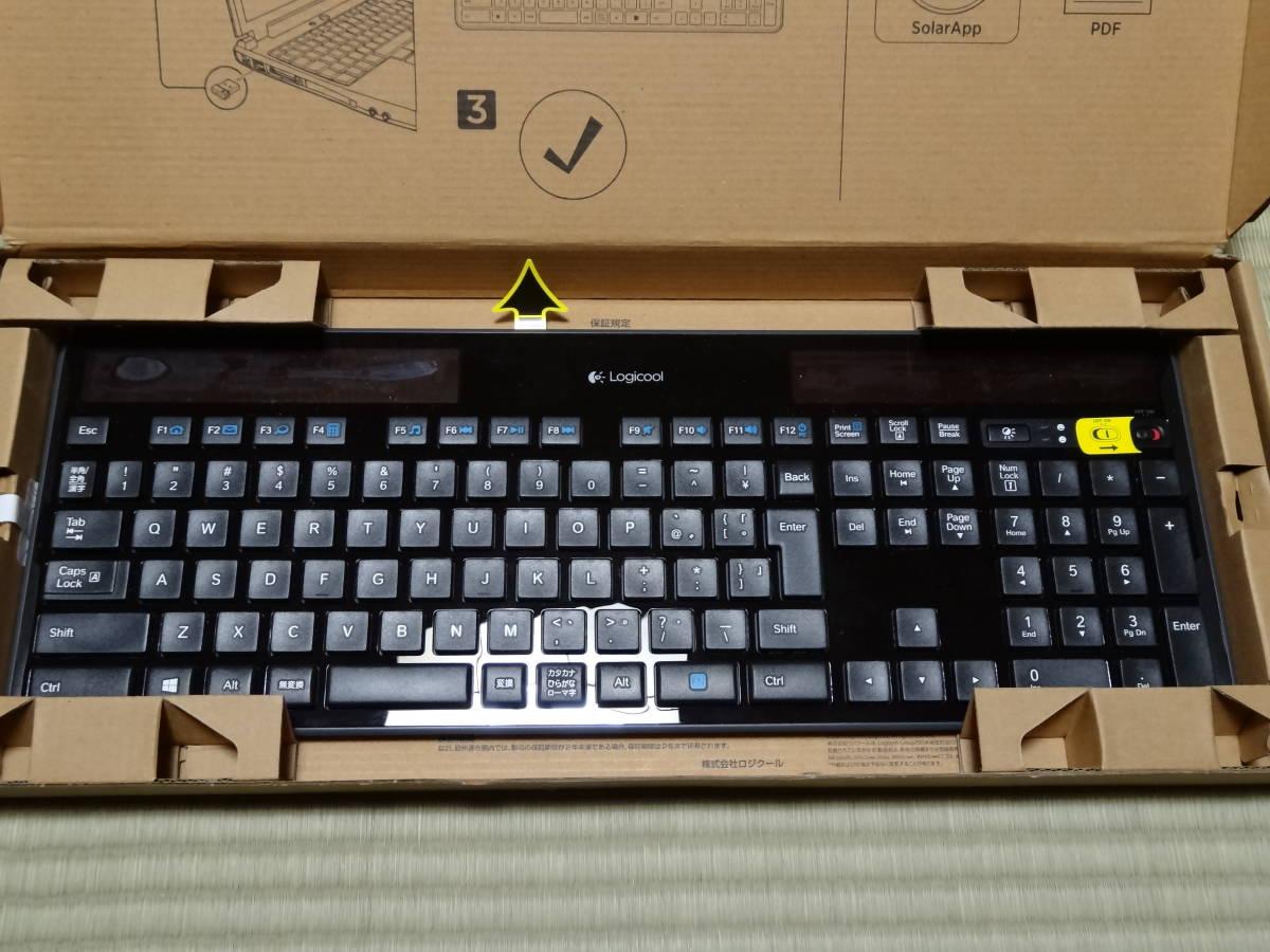 ★☆Logicool Wireless Solar Keyboard k750r 動作未確認9個セット☆★_画像5