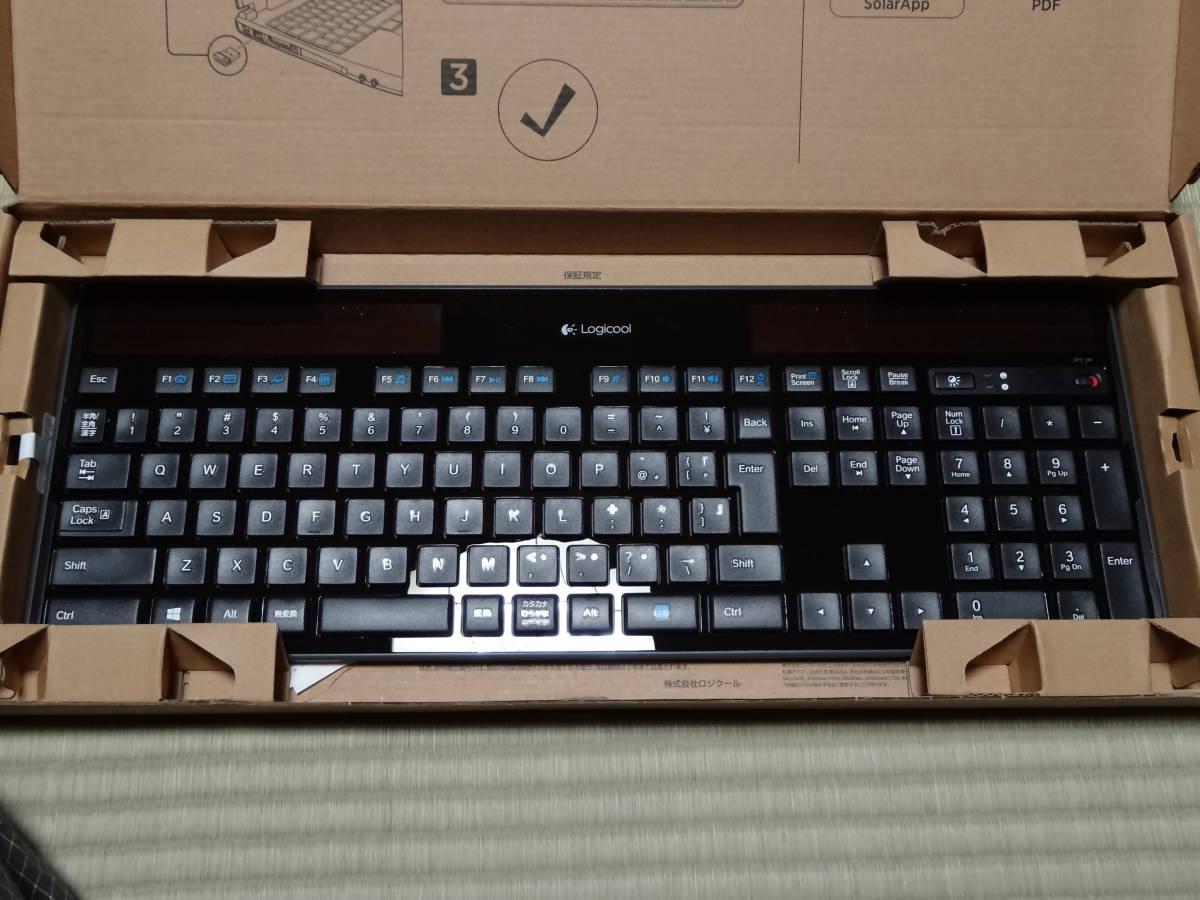 ★☆Logicool Wireless Solar Keyboard k750r 動作未確認9個セット☆★_画像6