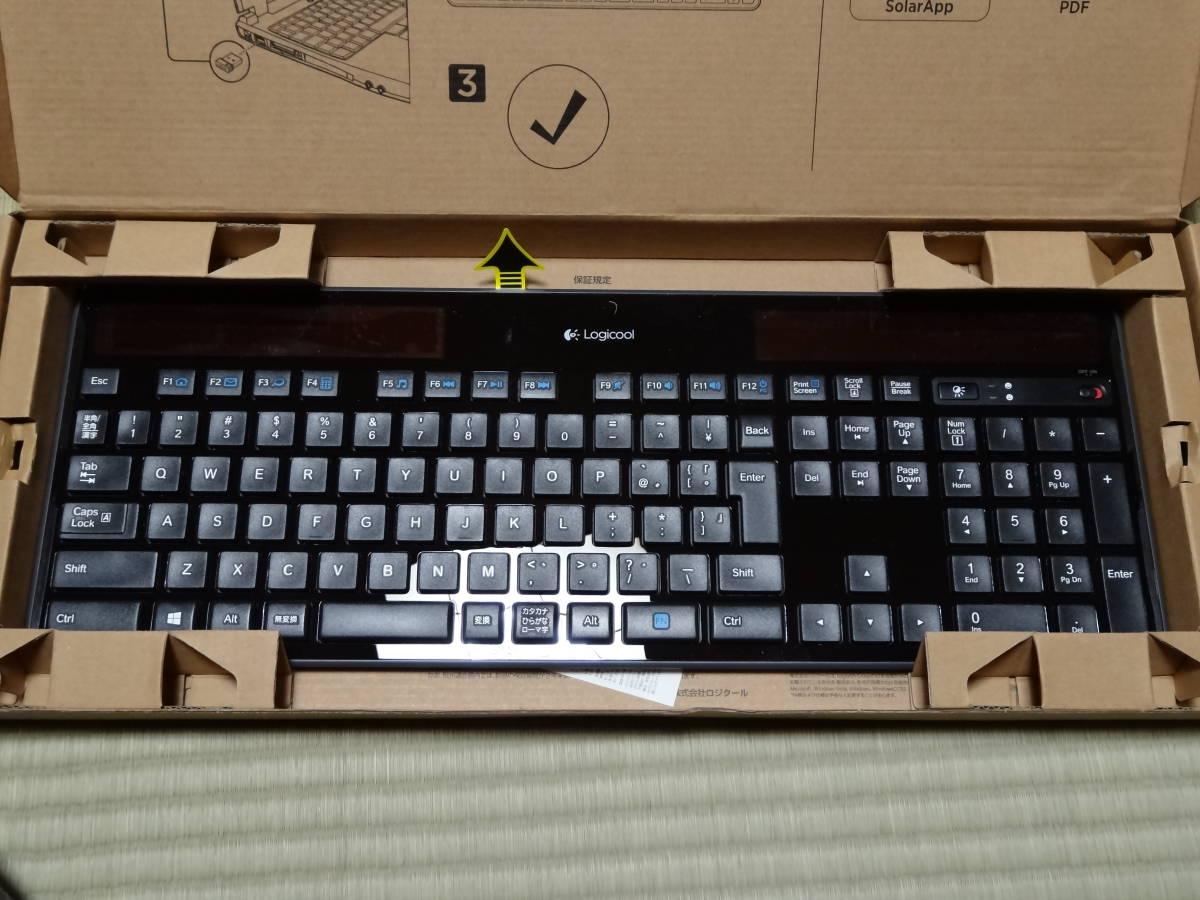 ★☆Logicool Wireless Solar Keyboard k750r 動作未確認9個セット☆★_画像8