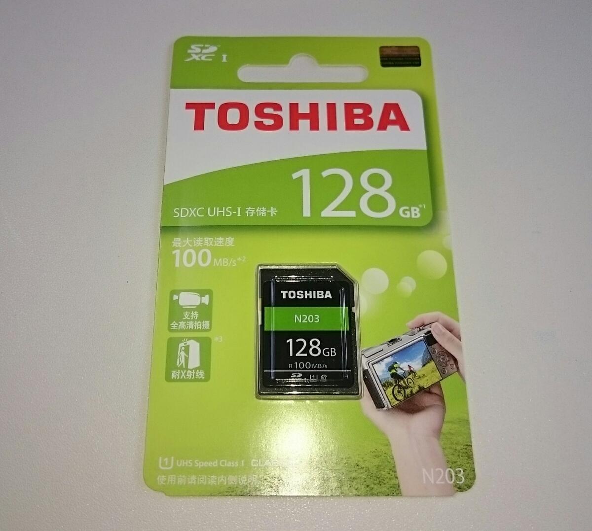 ★本物保証★128GB SDXCカード★東芝★☆海外パッケージ仕様☆★TOSHIBA★class10 UHS-I 100MB/s SDカード★