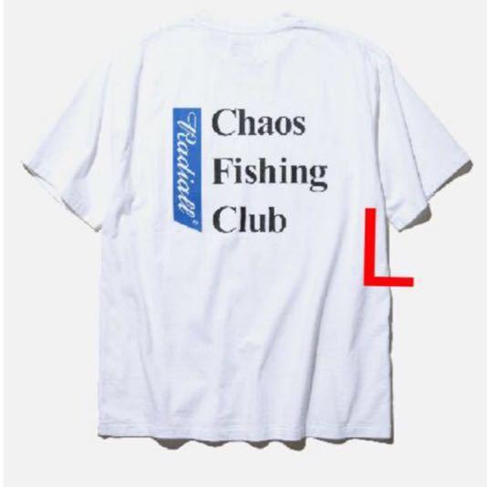 レア 新品 Chaos Fishing Club × RADIALL 限定 Tシャツ 19SS T-SHIRT S/S 胸ポケット ラディアル カオスフィシングクラグ