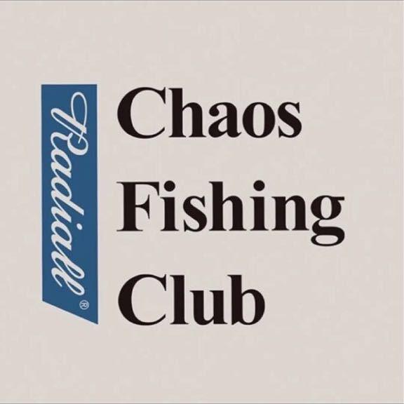 レア 新品 Chaos Fishing Club × RADIALL 限定 Tシャツ 19SS T-SHIRT S/S 胸ポケット ラディアル カオスフィシングクラグ_画像2