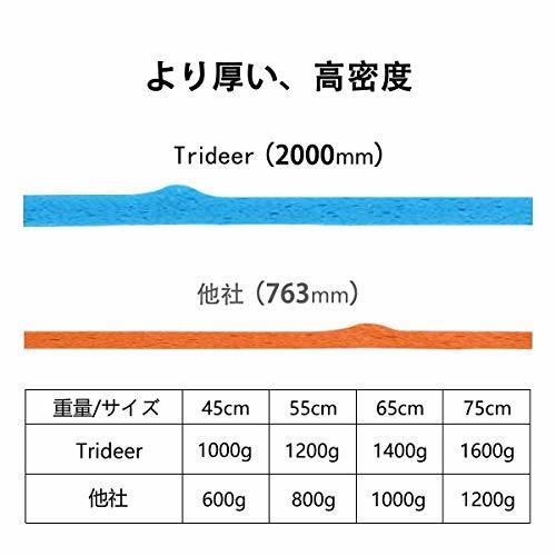 ◎限定1個! (シルバー, 65 cm)Trideer バランスボール 55 65 75 cm (シルバー, 65 cm)_画像4