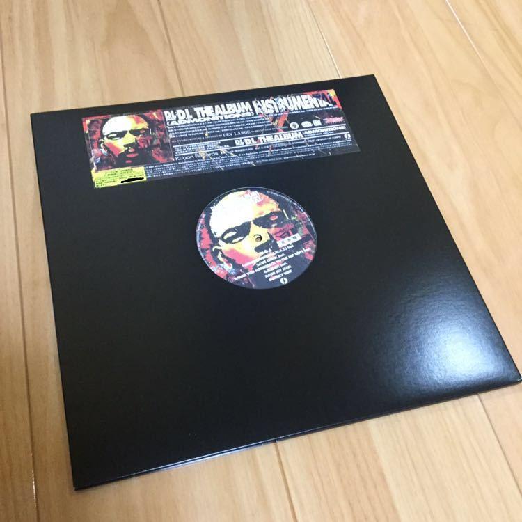 Dev large LP レコード 未使用品 見本盤 2007 the album instrumental 日本語ラップ hip hop rap dj muro koco Buddha brand ブッダ D.L