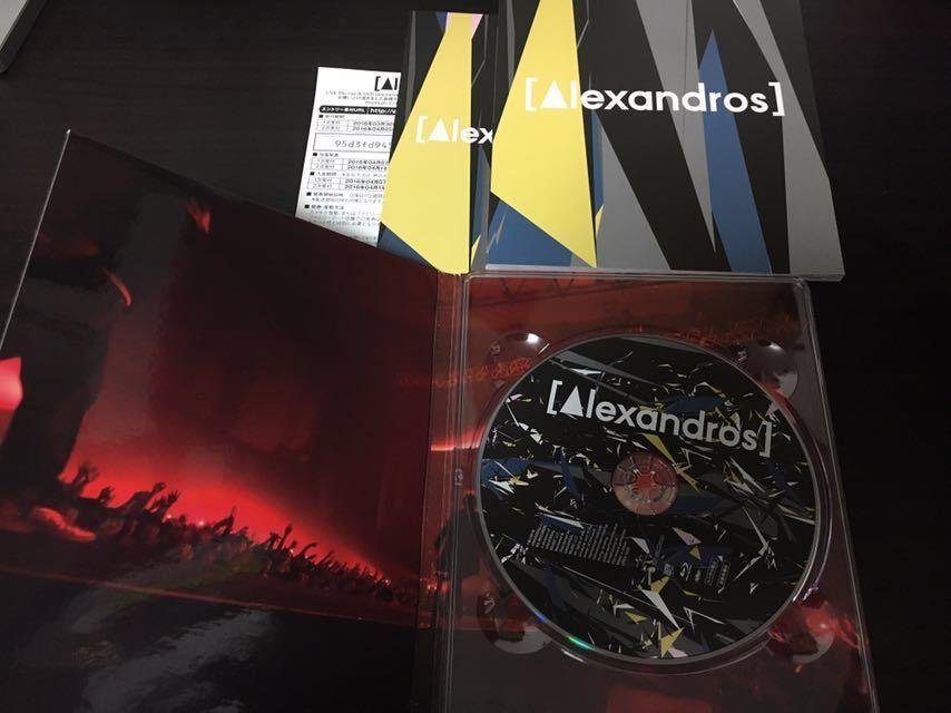 【初回限定版】 [Alexandros] live at Makuhari Messe 大変美味しゅうございました Blu-ray アレキサンドロス ブルーレイ 幕張メッセ 美品 _画像3