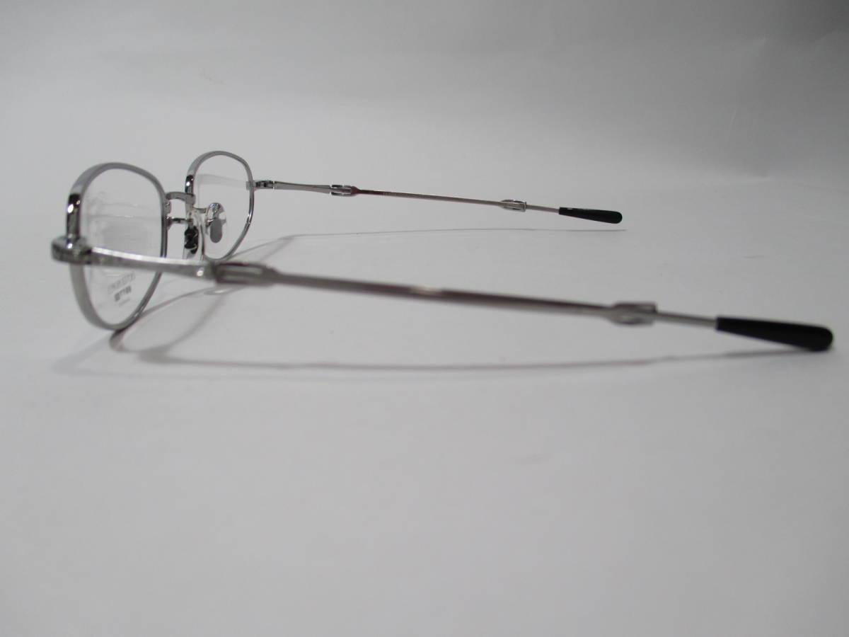 22296 未使用 OLIVER PEOPLES オリバーピープルズ 眼鏡 メガネ OP-711 CV メタルフレーム フルリム TITANIUM チタン 48□18-160_画像4