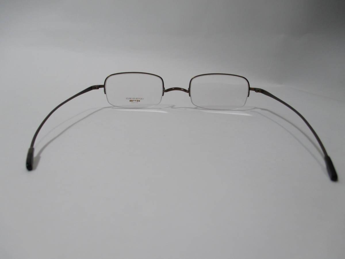 22304 未使用 OLIVER PEOPLES オリバーピープルズ 眼鏡 メガネ OP-638 AUT メタルフレーム ハーフリム 46□22-135_画像6