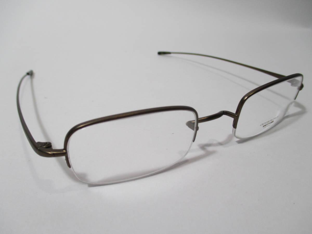 22304 未使用 OLIVER PEOPLES オリバーピープルズ 眼鏡 メガネ OP-638 AUT メタルフレーム ハーフリム 46□22-135_画像7