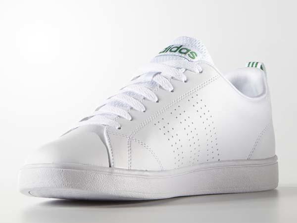 100円~ adidas バルクリーン2 [VALCLEAN2] 白/白/緑 27.5cm_画像4