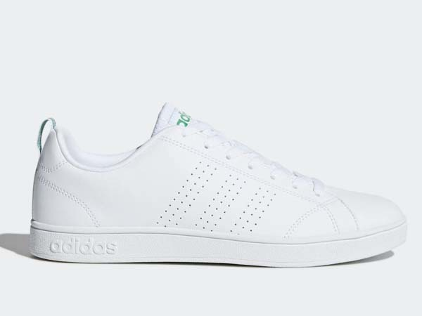100円~ adidas バルクリーン2 [VALCLEAN2] 白/白/緑 27.5cm_画像2