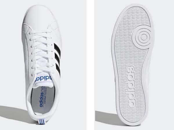 100円~ adidas バルストライプス2 [VALSTRIPES 2] 白/黒 26.5cm_画像5