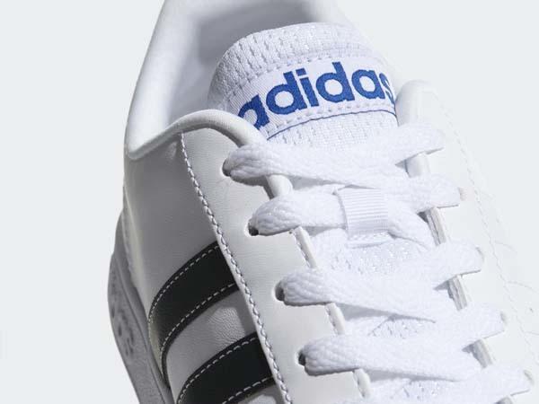 100円~ adidas バルストライプス2 [VALSTRIPES 2] 白/黒 26.5cm_画像6