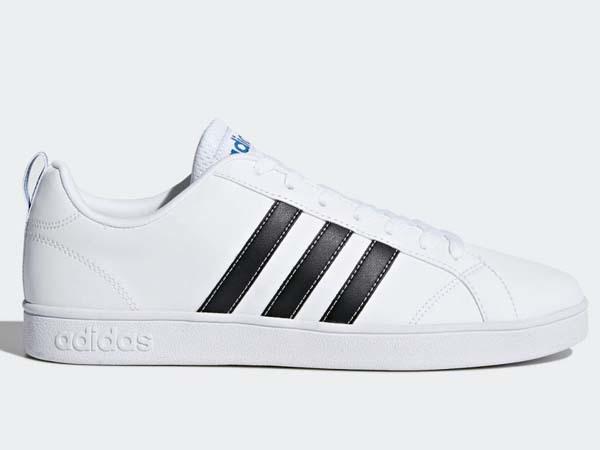 100円~ adidas バルストライプス2 [VALSTRIPES 2] 白/黒 26.5cm_画像2