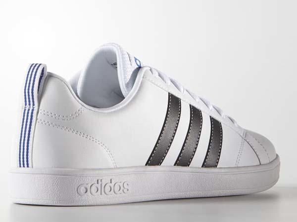 100円~ adidas バルストライプス2 [VALSTRIPES 2] 白/黒 26.5cm_画像3