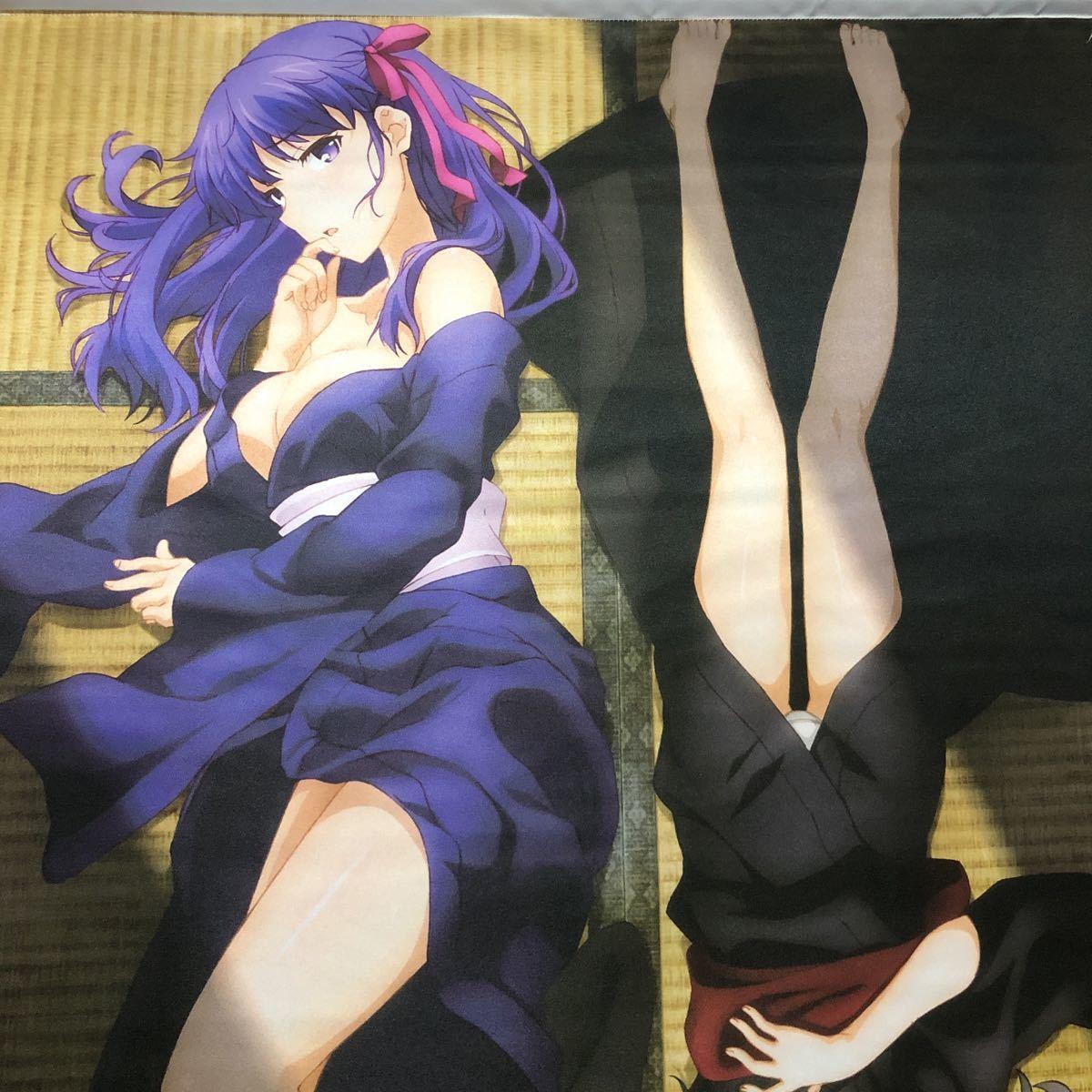 劇場版 Fate/kaleid liner プリズマ☆イリヤ 雪下の誓い 美遊&桜 B2タペストリー 非売品_画像2