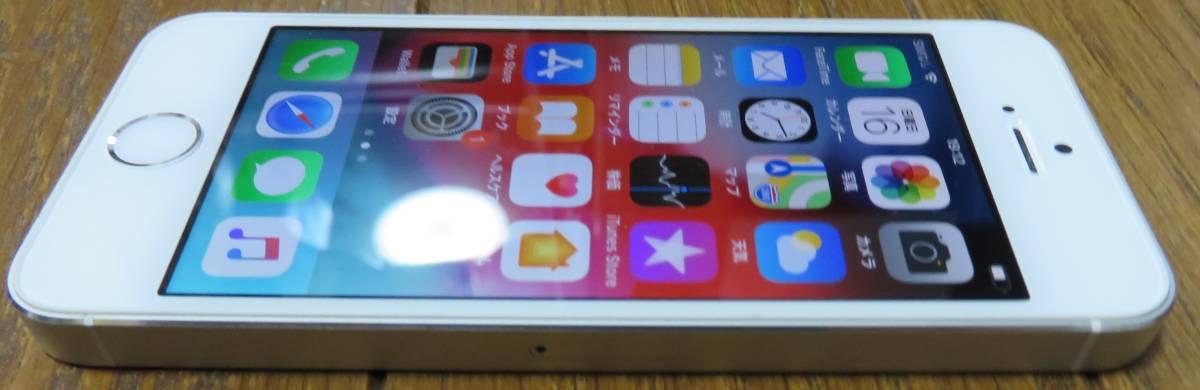★☆Apple iPhone5s 32GB docomo ドコモ 初期化済 稼働品☆★_画像5