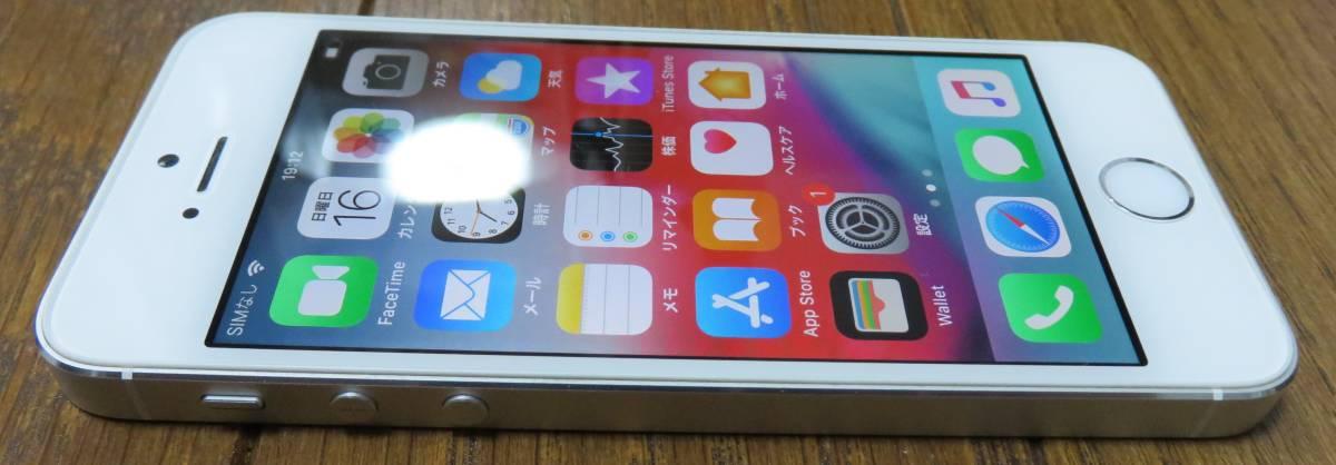 ★☆Apple iPhone5s 32GB docomo ドコモ 初期化済 稼働品☆★_画像3