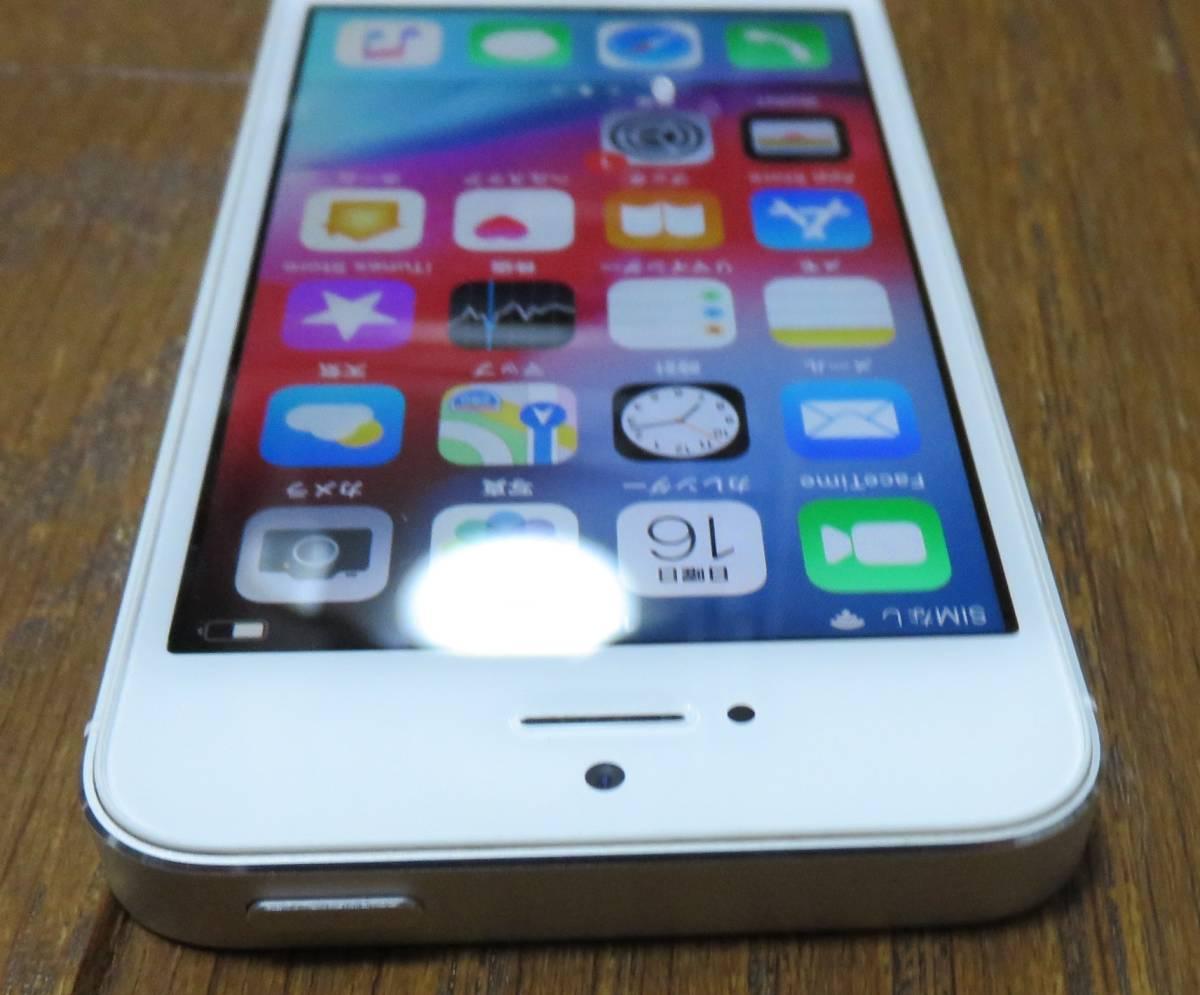 ★☆Apple iPhone5s 32GB docomo ドコモ 初期化済 稼働品☆★_画像4
