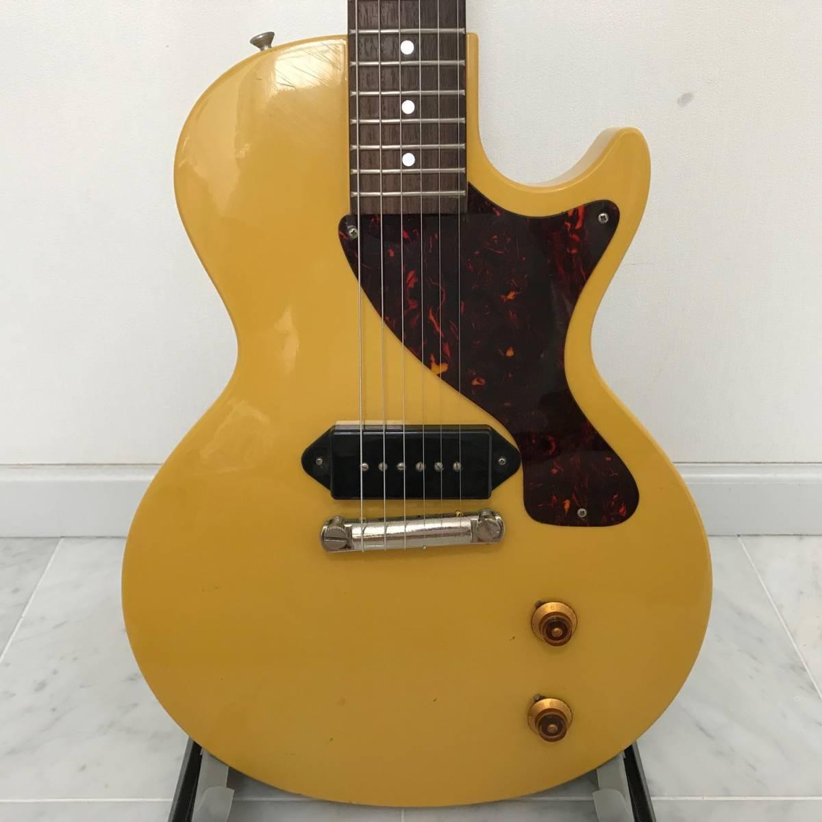 Orville by Gibson Les Paul Junior オービル バイ ギブソン レスポールジュニア イエロー 重量3.6kg_画像3