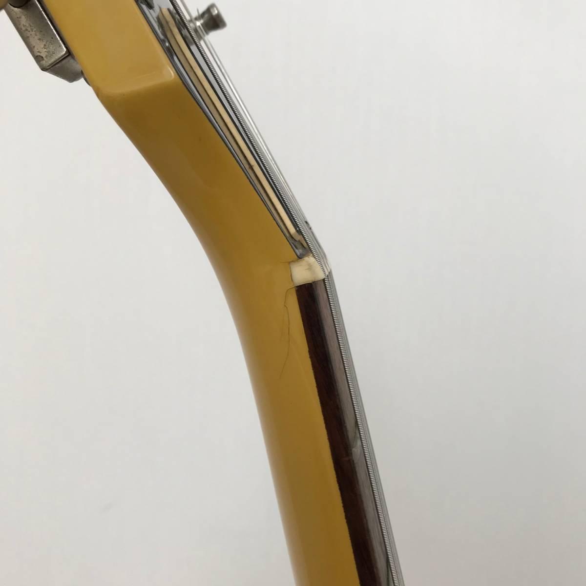 Orville by Gibson Les Paul Junior オービル バイ ギブソン レスポールジュニア イエロー 重量3.6kg_画像9