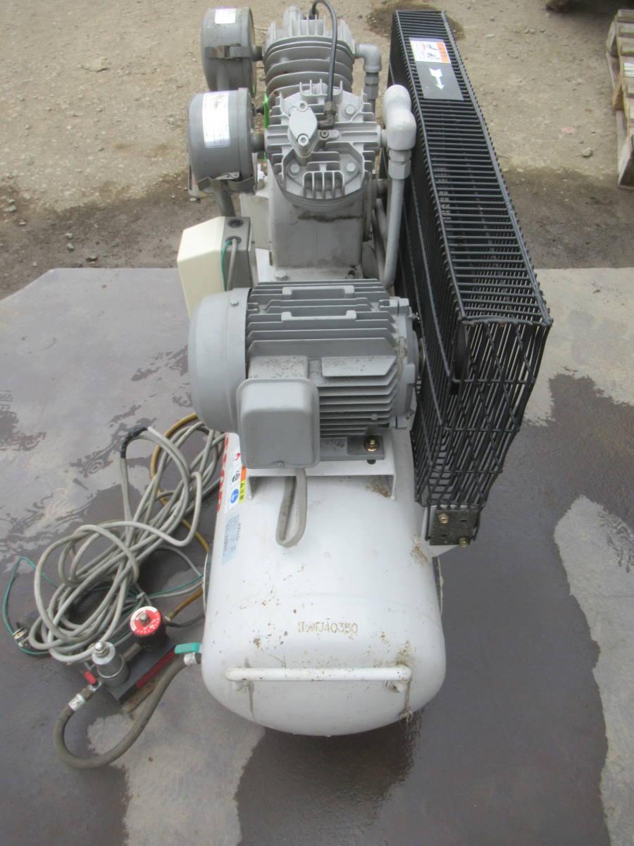 明治 サイレントコンプレッサー G22ck-2C 200V1.5kw_画像4
