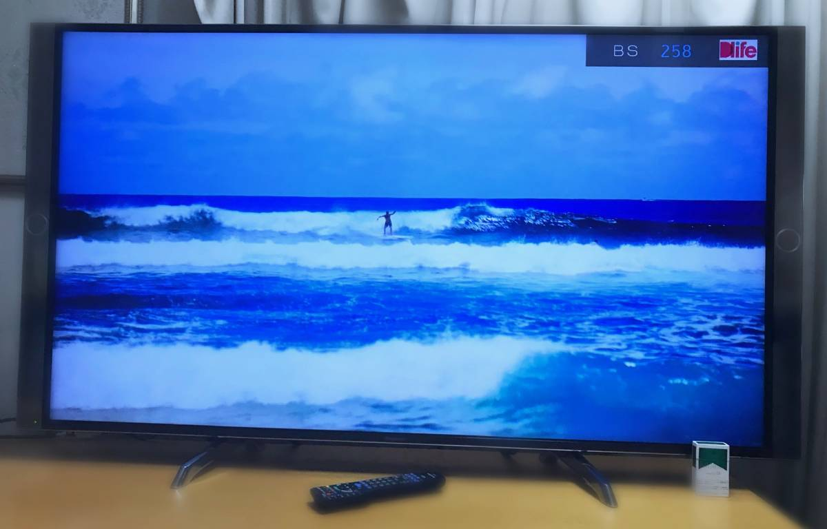【TH-60DX850☆2016年製☆超美品】Panasonic☆LED 4K VIERA☆デジタル フルハイビジョン液晶T.V☆60型☆3840x2160画素☆完動品!_画像5