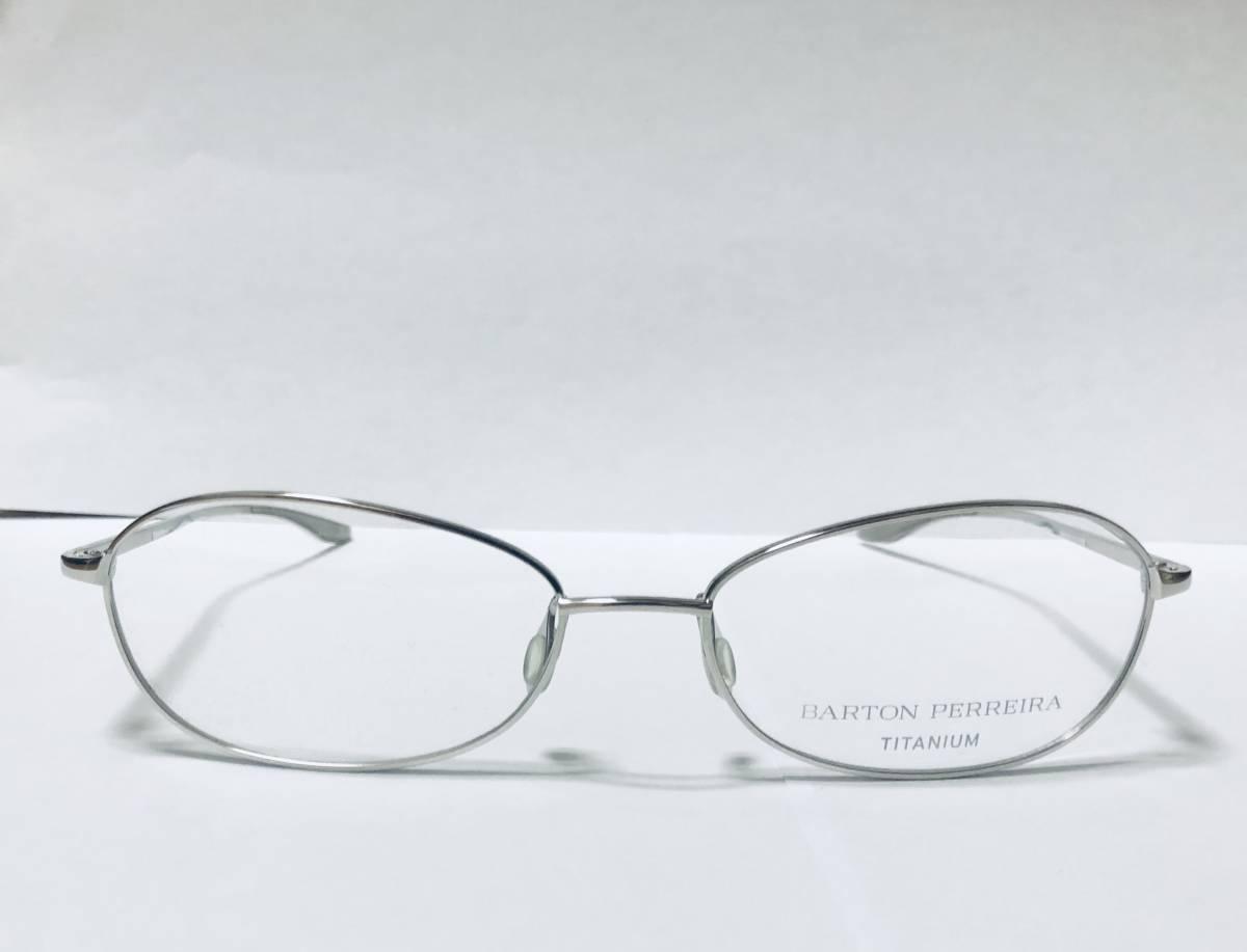 定価 42,500円 バートンペレイラ ヘイゼル チタン製 日本製 シルバー Barton perreira 米国ブランド_画像3