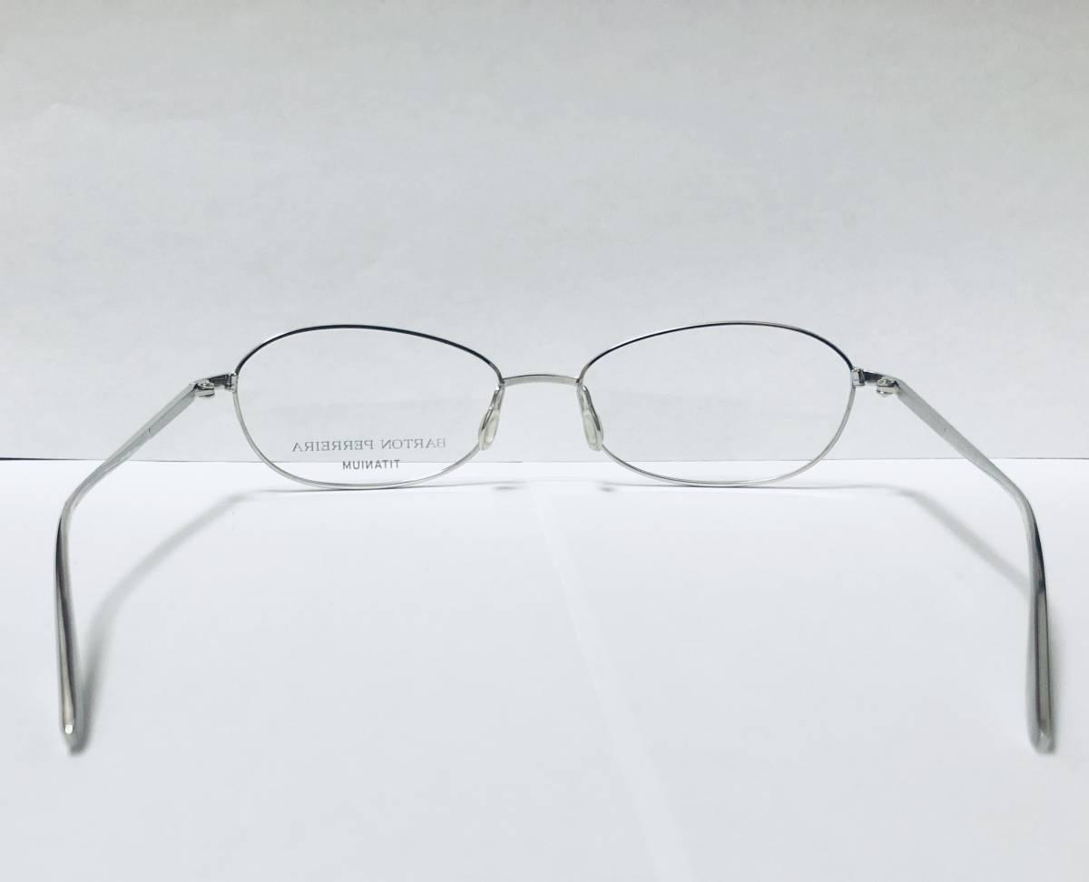 定価 42,500円 バートンペレイラ ヘイゼル チタン製 日本製 シルバー Barton perreira 米国ブランド_画像7