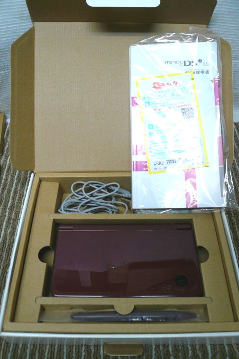 任天堂 ニンテンドー DS i LL 本体 UTL-001 ワインレッド 元箱付き 綺麗です