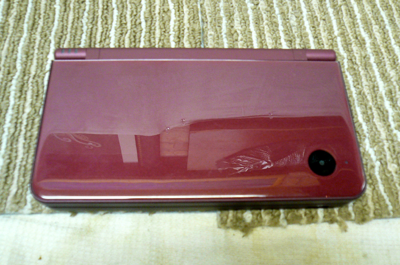 任天堂 ニンテンドー DS i LL 本体 UTL-001 ワインレッド 元箱付き 綺麗です_画像2