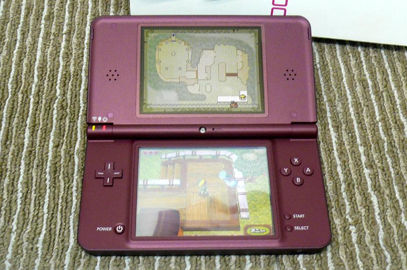 任天堂 ニンテンドー DS i LL 本体 UTL-001 ワインレッド 元箱付き 綺麗です_画像5