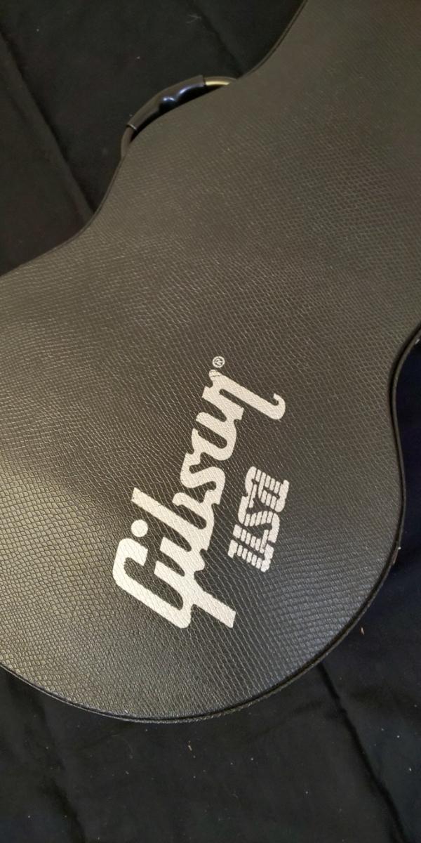 エピフォン by gibson レスポールタイプ カスタム ブラック 激渋 激鳴り ギブソン ハードケース付き_画像10