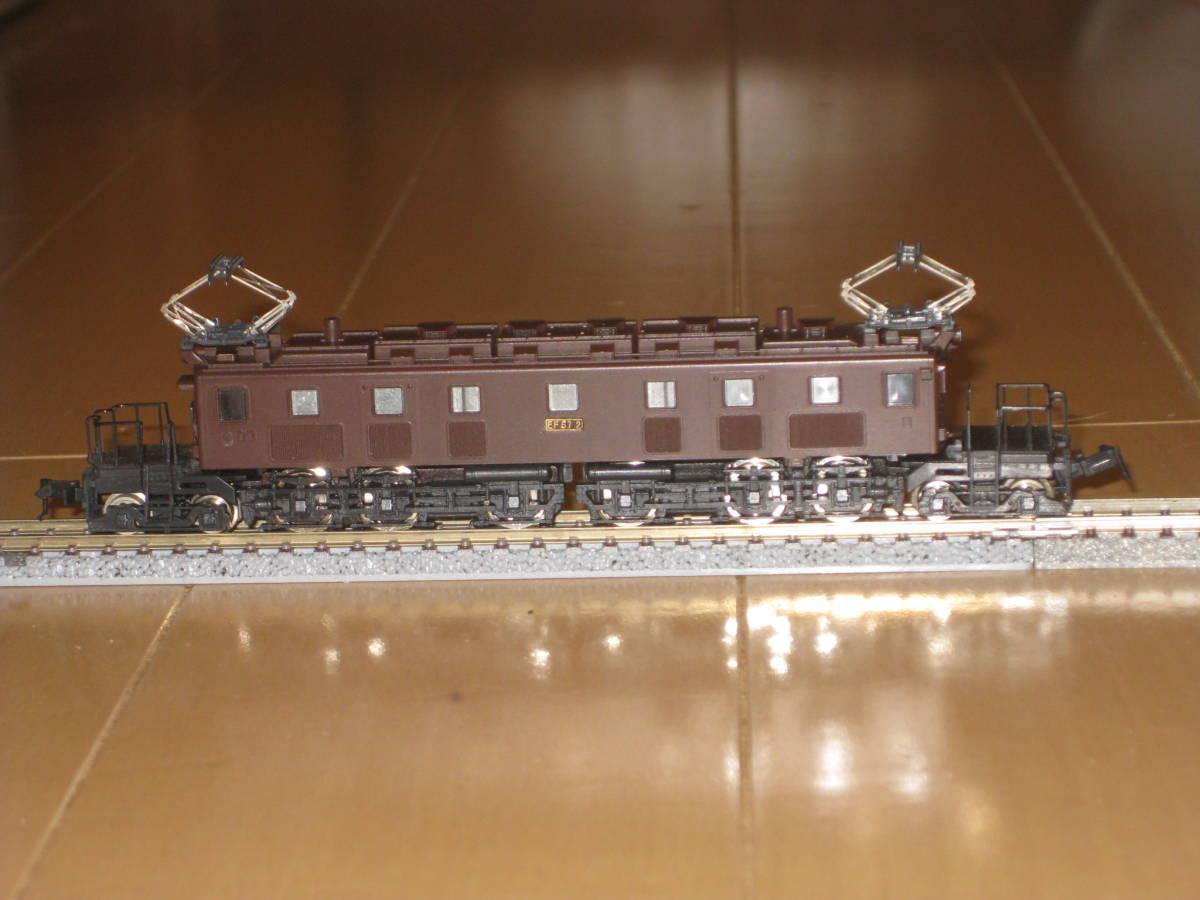 30) Nゲージ カトー 303 EF57 電気機関車 動作確認済(但し空転)。難あり。