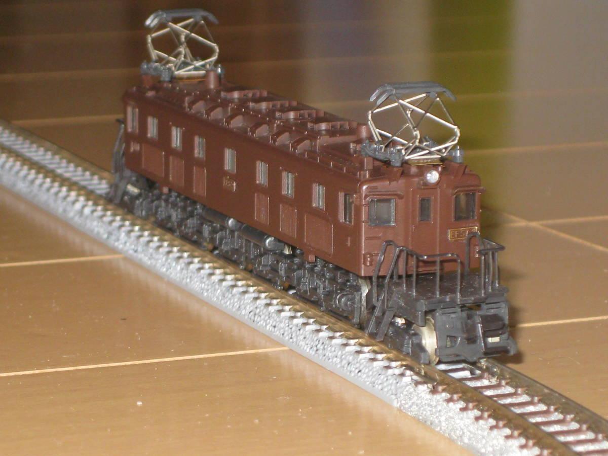30) Nゲージ カトー 303 EF57 電気機関車 動作確認済(但し空転)。難あり。_画像2
