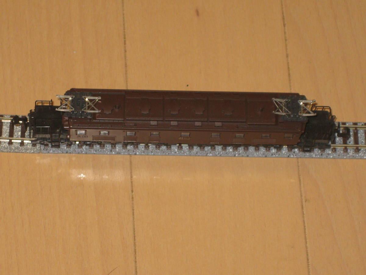 30) Nゲージ カトー 303 EF57 電気機関車 動作確認済(但し空転)。難あり。_画像5