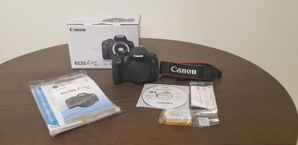 Canon キャノン EOS kiss ×7i (レンズなし) ピンチヒッター 夏休み目前 一眼レフカメラ祭り!