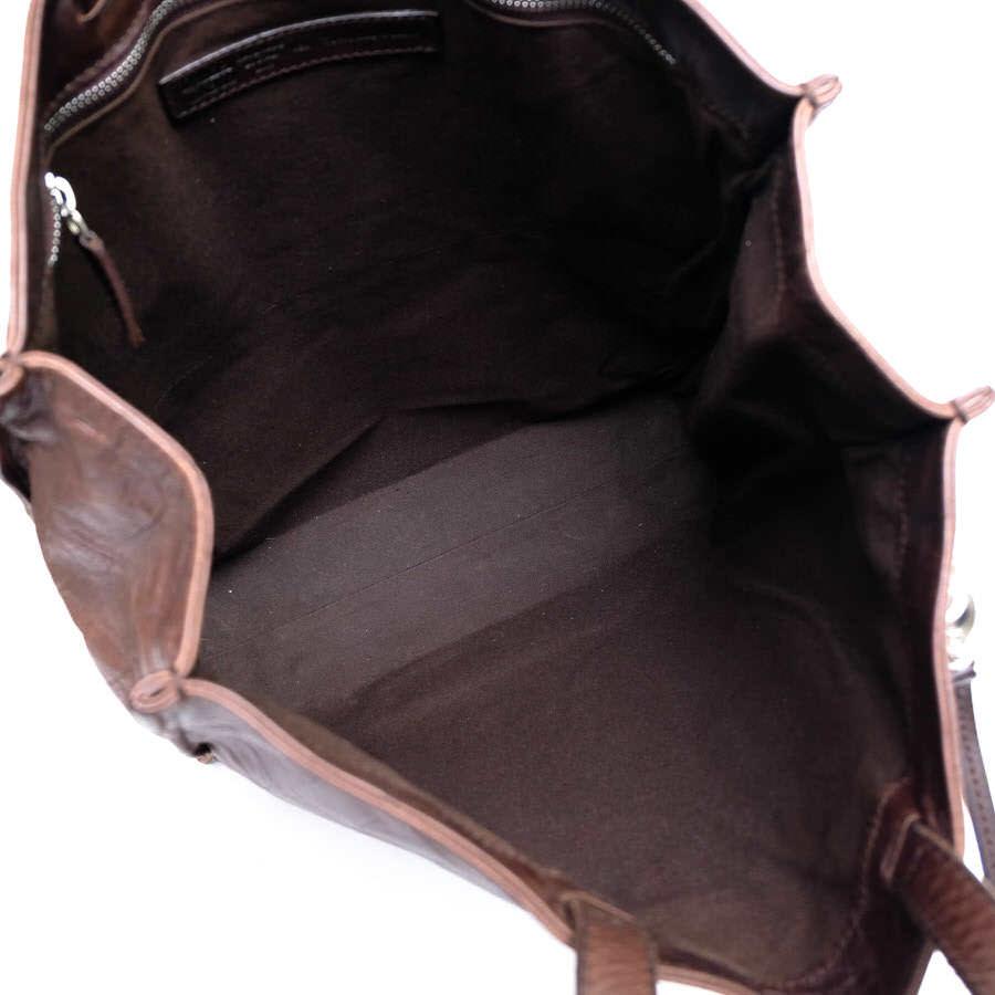Daniel&Bob ダニエル&ボブ バッグ トートバッグ キーストラップ付き クロコ型押し イタリア製 メンズ レザー 革 c2791_画像8