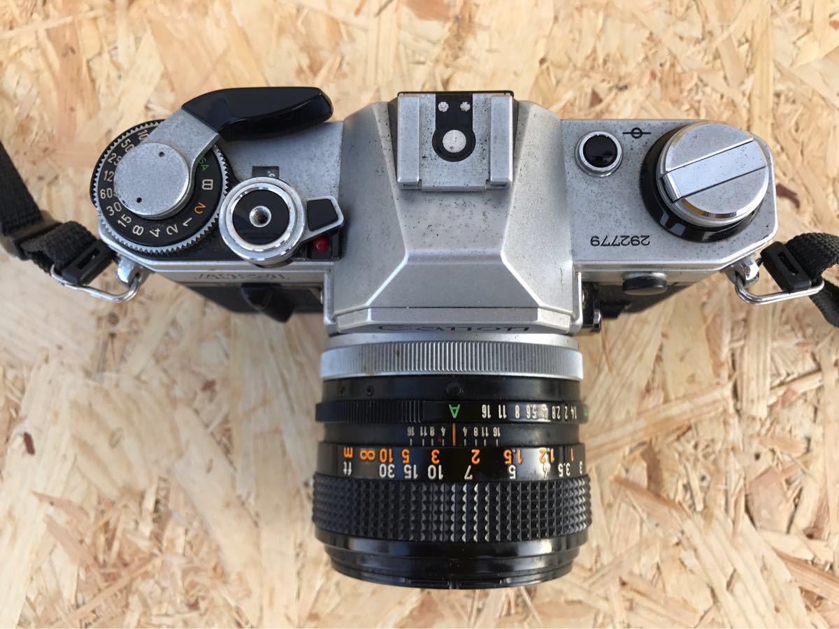 【ジャンク品】canon キャノン AE-1☆43年前のレトロカメラ♪_画像6