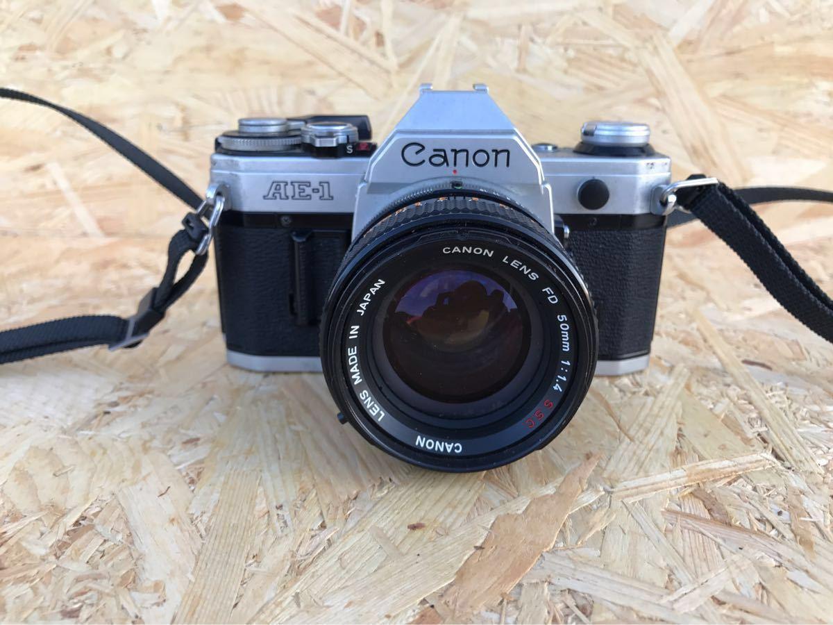 【ジャンク品】canon キャノン AE-1☆43年前のレトロカメラ♪