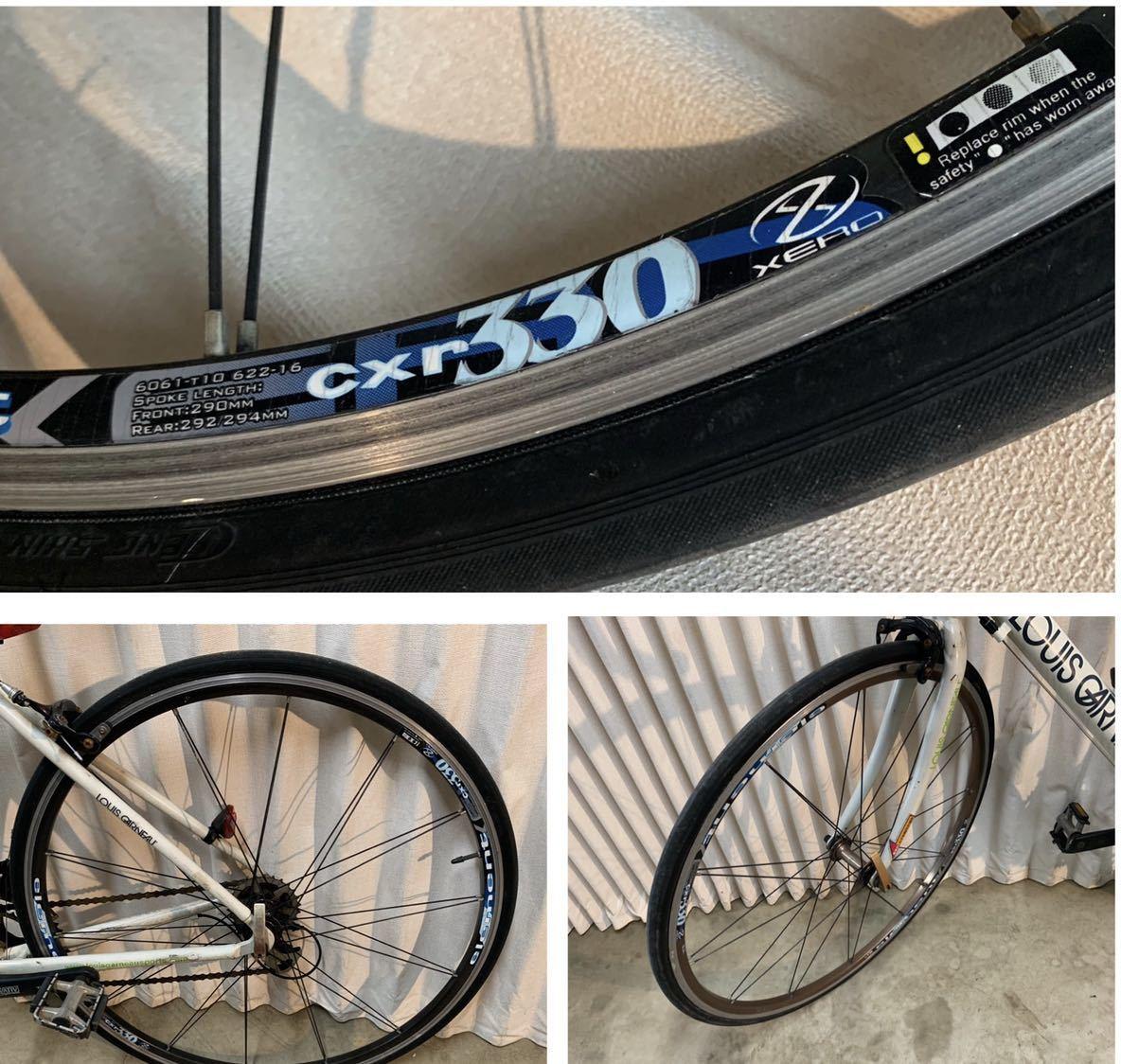 〔中古品〕ロードバイク LOUIS GARNEAU CR22 700×25C 2×9 18段変速 アルミフレーム グリップテープ、配送なし、取りに来れる方のみ。_画像8