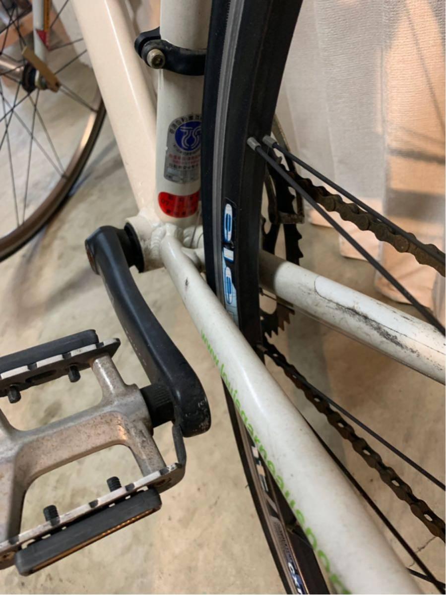 〔中古品〕ロードバイク LOUIS GARNEAU CR22 700×25C 2×9 18段変速 アルミフレーム グリップテープ、配送なし、取りに来れる方のみ。_画像7