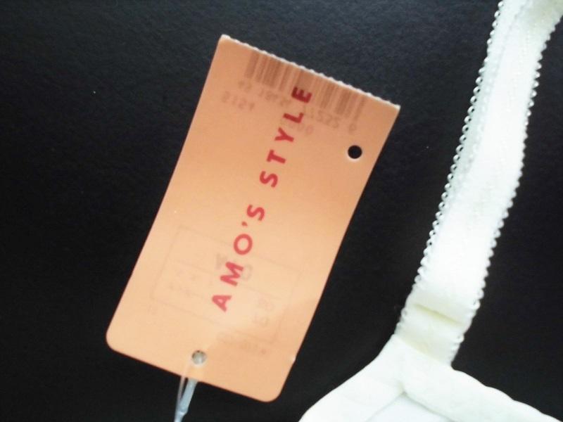 新品【AMO'S STYLE】ブラジャーA70 トリンプ白ホワイト定形外220円_画像6