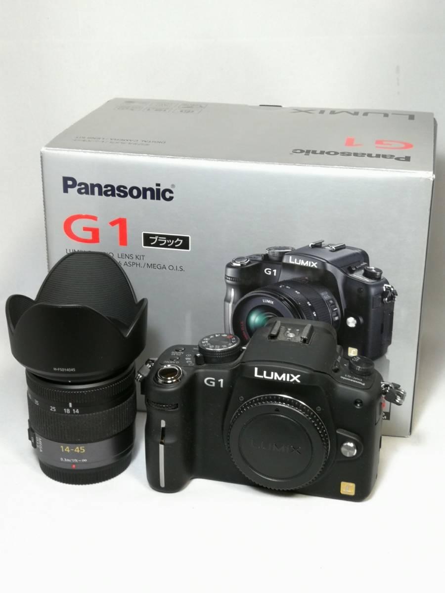 Panasonic LUMIX G1 レンズキット 14-45mm DMC-G1K パナソニック ルミックス マイクロフォーサーズ