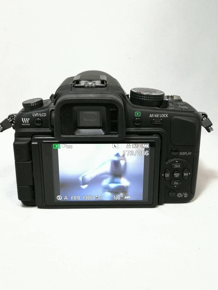 Panasonic LUMIX G1 レンズキット 14-45mm DMC-G1K パナソニック ルミックス マイクロフォーサーズ_画像5