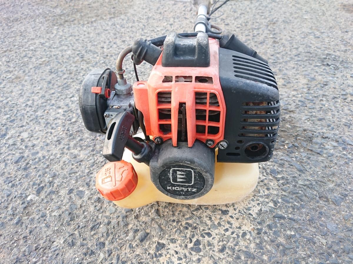 共立 刈払い機 SRCB260 草刈機 刈払機 草刈り機 大きめ26cc Uハンドル デコンプ付き_画像6