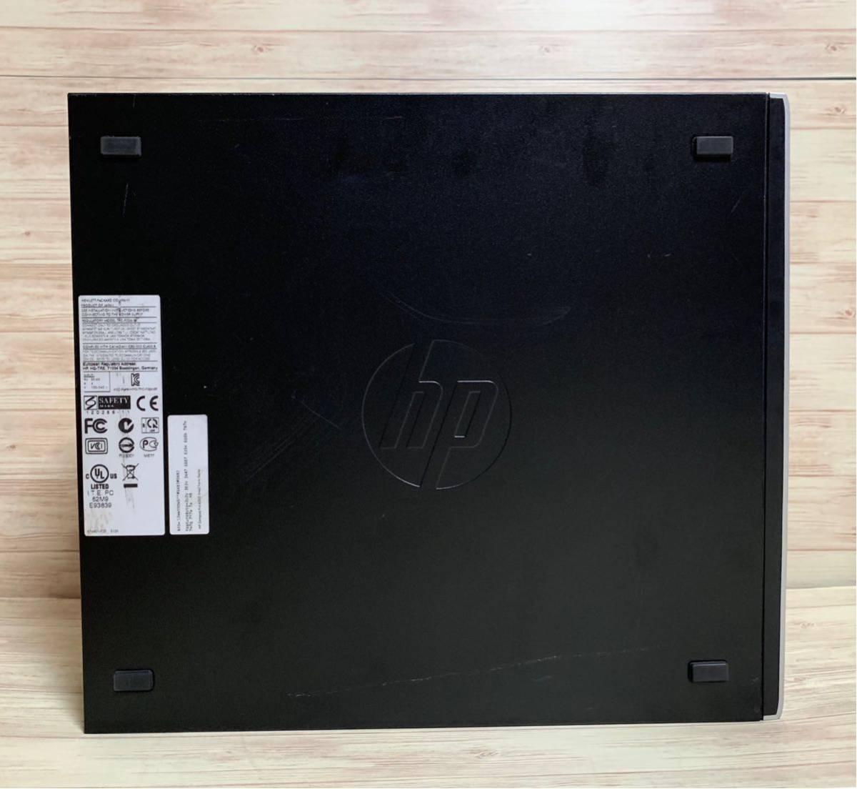 ■ 新品SSD搭載! ■ Core i5 3470 ■ SSD 240GB + HDD 500GB ■ メモリ8GB ■ HP Compaq 6300 SF ■ Win10 ■ office ■ DtoD_画像4