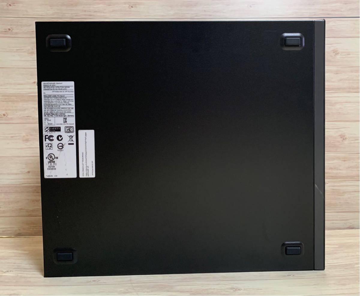 ■ 新品SSD搭載! ■ Core i5 4590 ■ SSD 240GB + HDD 500GB ■ メモリ8GB ■ HP Prodesk 600 G1 SFF ■ Win10 ■ office ■DtoD_画像4