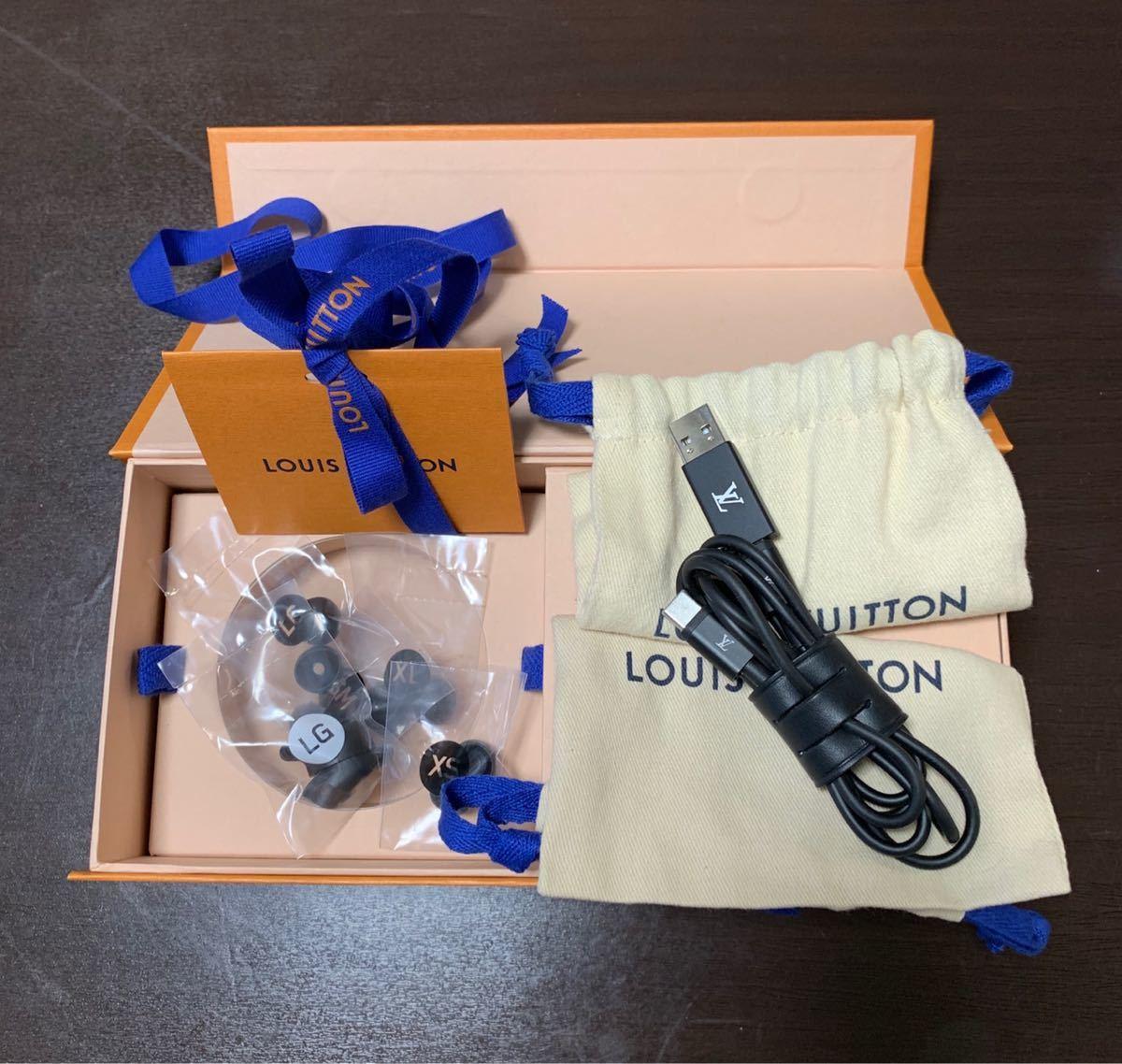 ルイヴィトン モノグラム ホライゾンレッド ワイヤレス イヤホン QAB030 Bluetooth_画像2